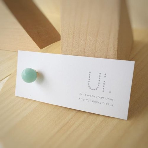 ui. maru earrings amazonite