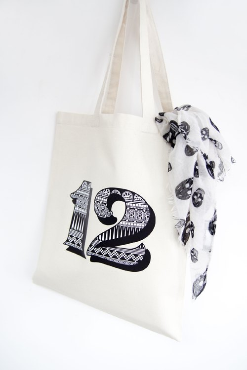 Personalization - the letters bags