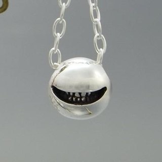 "smile jewelry necklace pendant sterling silver ball "" smile ball pendant S 【type:normal】"" s_m-P.07 ( 微笑 銀 垂饰 颈链 项链 )"