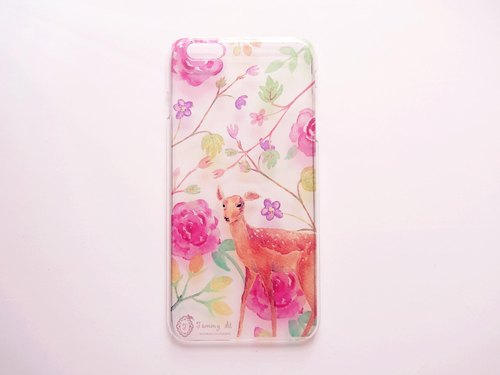 Tammy St. deer garden design IPHONE6 / 6PLUS soft phone sets