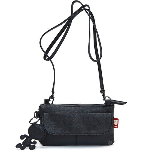 [Free shipping] I AM - VEGGIE naturalism series HOT CHOCOLATE Shoulder bag [black]