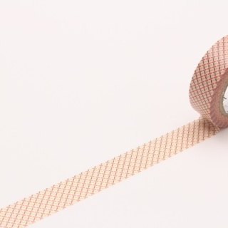 Mt and paper tape Deco [dashed line - red (MT01D299)]