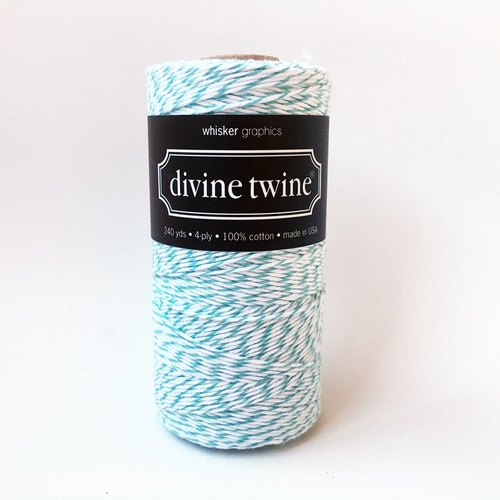 US imports Divine Twine double color cotton thread 【Teal】