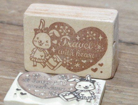 Exclusive Order - 4x6 manual ㄎ ㄎ rubber stamp / Custom Special Edition