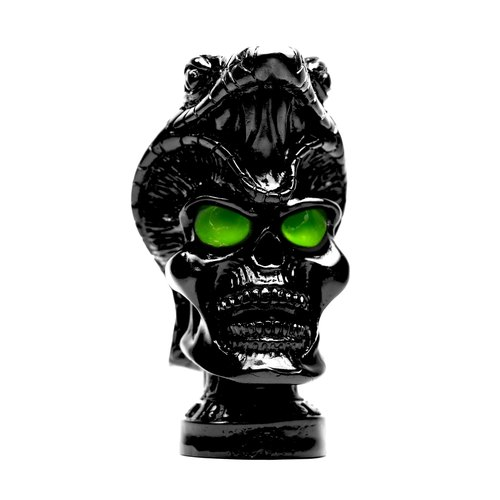 Brainfart55 x BAD KIDS evil child modeling joint black and green candle fragrance
