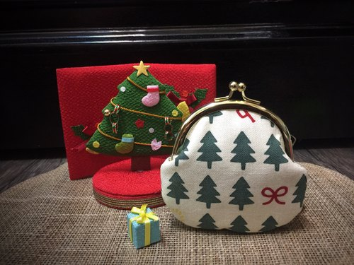 Kyoto Chennai Christmas の small mouth gold package (Christmas tree)