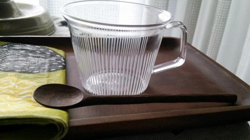 KIRIKO heat mug small Hosotate