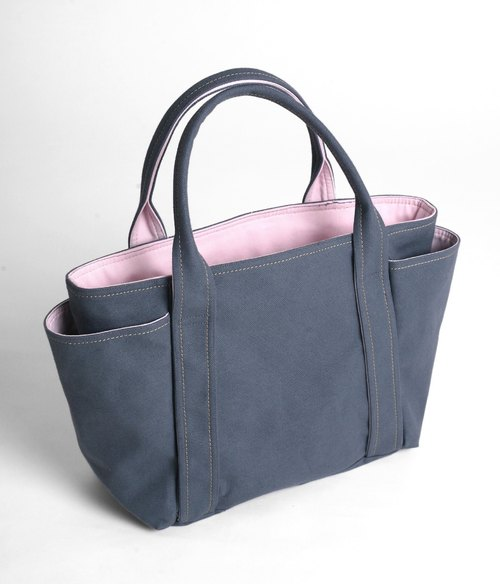 Universal shoulder bag - blue and gray (middle)