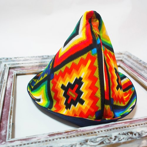 A MERRY HEART ♥ exclusive design wizard hat joy geometric triangle