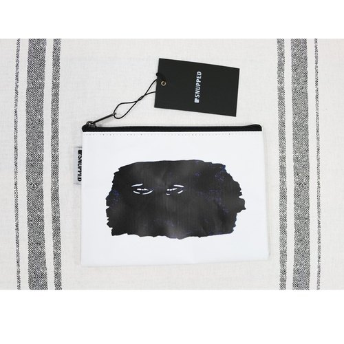 Snupped limited commodity percent off Snupped Zipper Pouch - face
