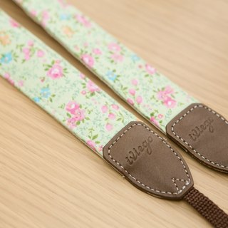 Listing exceeded 1000 limited time special iviego26 handmade camera strap - ate eaten - pink (boxless.)