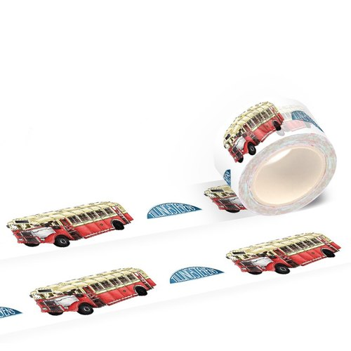Hong Kong Masking Tape - Hong Kong Series - Single Decker - Tilling Stevens (S2015-060)
