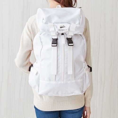 [Fu Lipin] anello x Nylon after Bacpack nylon outdoor leisure backpack*CARROT*