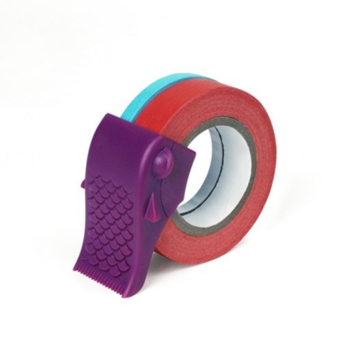 [Dot Design] fish in Carp (Tape Dispenser) - Purple
