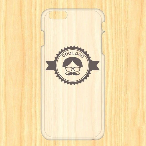 Cool Dad transparent PC Phone Case AD5-FADY1