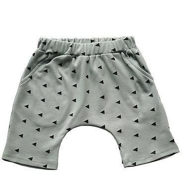 Small gray triangle shorts