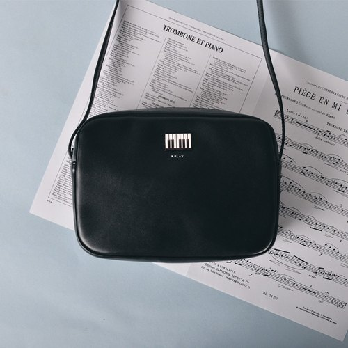 KIITOS square Messenger Bag Music Series - Piano section # # Quick arrival