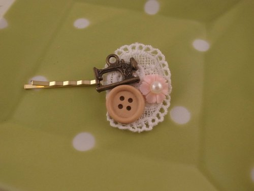 """Pastoral series"" Little Chinese Seamstress hairpin"