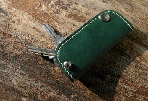 [Liz] hand-stitched leather Wallets / car key cases