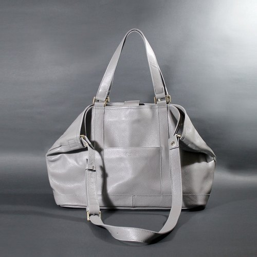 Passion in gray handbag hand / shoulder / hatchback