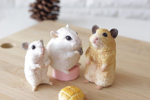 Pet Doll 3-5cm ( mouse ) can be used as pure decoration doll keychain