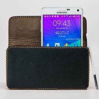 Samsung Note4 horizontal leather holster