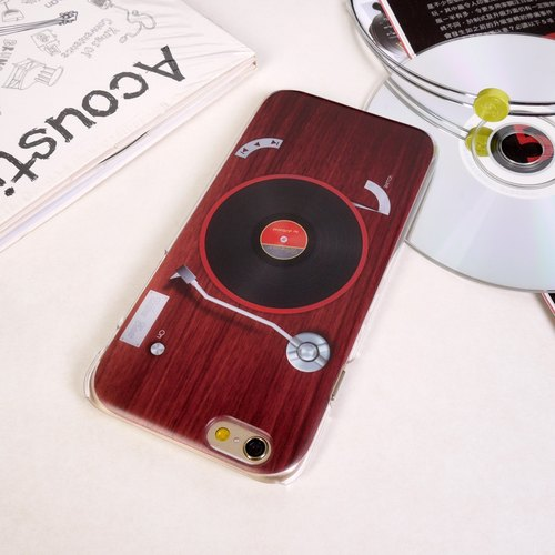Ultra Sound Retro Record Player Print Soft / Hard Case for iPhone 5/5S, iPhone 4/4S, Samsung Galaxy Note 4 Note 3, S5, S4, S3