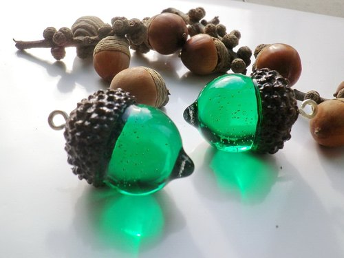 Anny's workshop Yahua handmade jewelry, rubber fruit color necklace new report