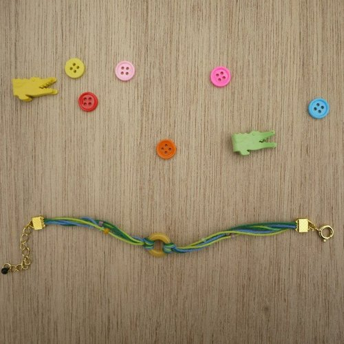 ◎◎◎ Japanese connection ◎◎◎ yellow donut bracelet