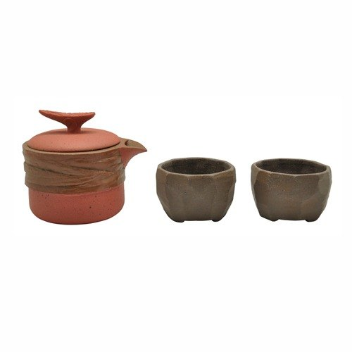 [] Feng Ling Lu Po-line tea set (3-piece)