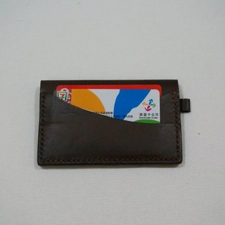Cow leather card holder