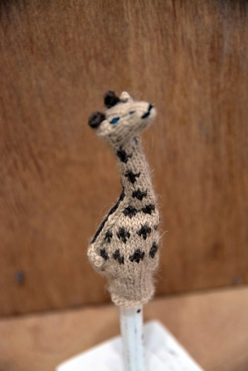 Baby alpaca finger giraffe _ _ fair trade