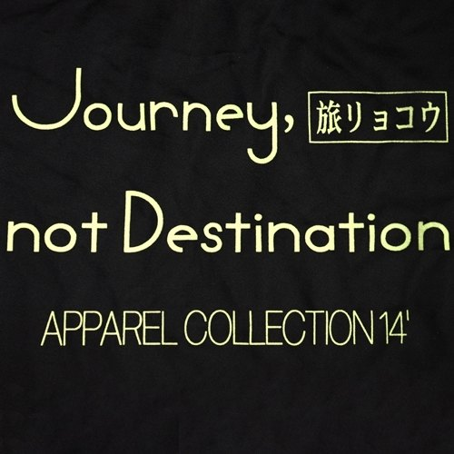 Journey , not destination (淺黃)