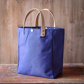 Simple tote bag, dark blue