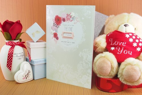 ◤ my greatest happiness that I discovered that I love you | UK Valentine card love heart love |