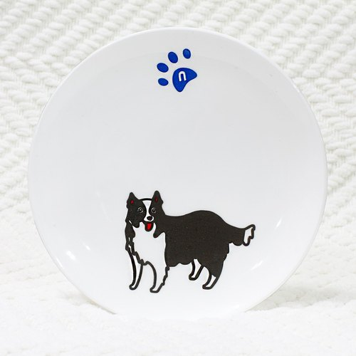 [Reflective stickers] Border Collie 5.4 * 6.8 cm