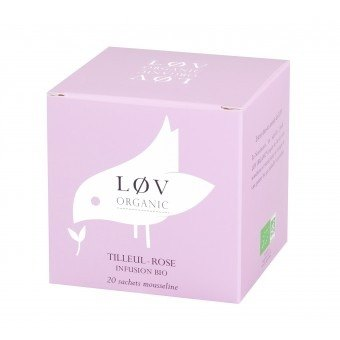 Organic Tea Rose Bodhi spot Clearance Offer - Tilleul Rose (20 packets / box)