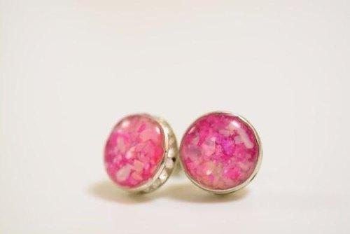 [October limited] cosmos field: earrings