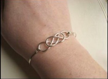 ∞ Alien House ∞ ○ ○ double infinity symbol custom jewelry bracelet