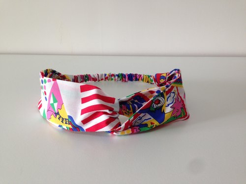 Childlike circus ribbon