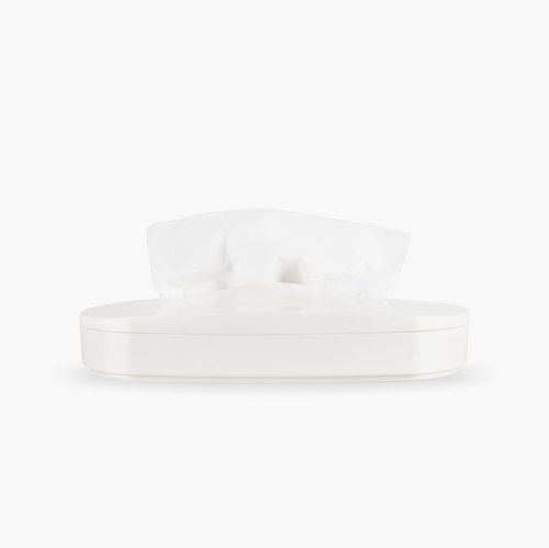 Flexible Tissue Box_White