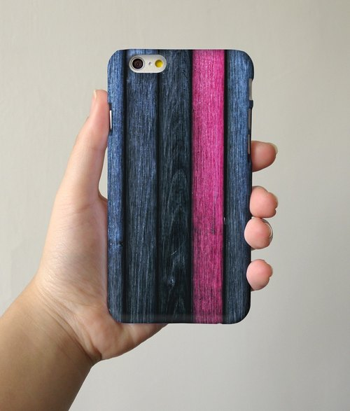 Print Wood Pattern Blue 02 3D Full Wrap Phone Case, available for  iPhone 7, iPhone 7 Plus, iPhone 6s, iPhone 6s Plus, iPhone 5/5s, iPhone 5c, iPhone 4/4s, Samsung Galaxy S7, S7 Edge, S6 Edge Plus, S6, S6 Edge, S5 S4 S3  Samsung Galaxy Note 5, Note 4, Note