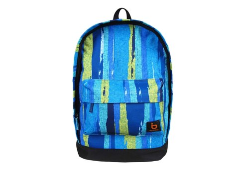 [BAUUBAG] KIDO Cheetos baby backpacks - colorful stripes (blue) (backpacks / 14-inch computer bag)