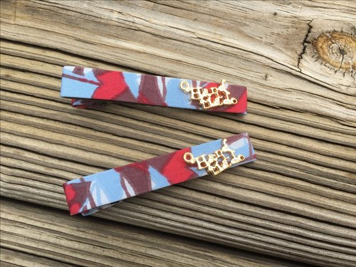 0829 light blue graffiti bangs clip