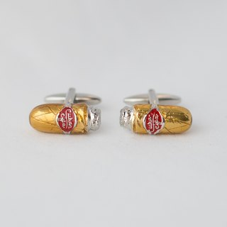 Cuban Cigar Cufflinks CUBAN CIGAR CUFFLINK