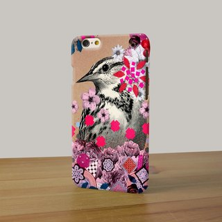 vintage bird flower 3D Full Wrap Phone Case, available for  iPhone 7, iPhone 7 Plus, iPhone 6s, iPhone 6s Plus, iPhone 5/5s, iPhone 5c, iPhone 4/4s, Samsung Galaxy S7, S7 Edge, S6 Edge Plus, S6, S6 Edge, S5 S4 S3  Samsung Galaxy Note 5, Note 4, Note 3,  No