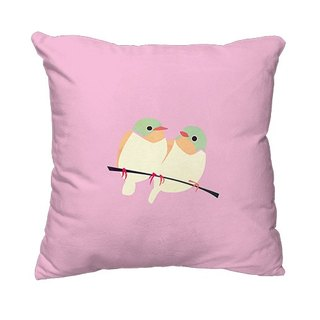 [Story of the Spring] Spring Series - pillow (pink) AH1-SPRG2