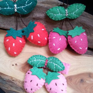 [Sweet berry children hair accessories / Accessories / pin]