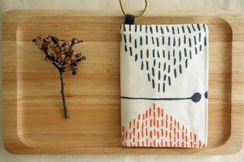 Kyoto fabric Passport Case - Butterflies