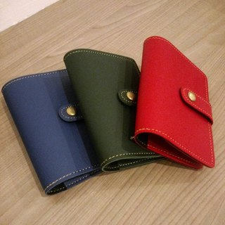 [Travel safe] handmade passport holder--high color color system--- -